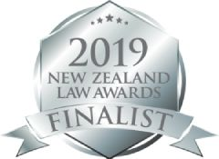 2019 NZ Law Awards Finalist Badge