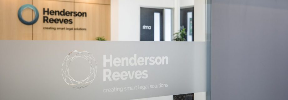 Work with us - Henderson Reeves Connell Rishworth Lawyers